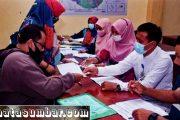Ringankan Beban Warga, Bansos Tahap 5 di Kelurahan Ganting di Serahkan