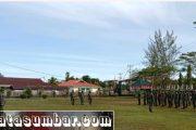 Siaga Covid-19 Jelang Libur, Kodim 0319/Mentawai Gelar Apel Luar Biasa