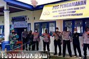 PAM Nataru, Babinramil Sikakap Lakukan Penegakan Disiplin Prokes di Kapal Sanus 68