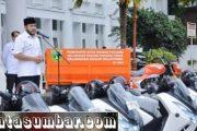 16 Lurah di Padang Panjang Terima Motor Dinas, Wako Fadly : Kinerja Lurah Harus Maksimal