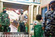 Tim Gabungan Satgas Kecamatan Sikakap Patroli Perayaan Malam Natal