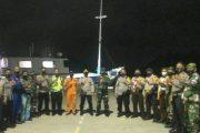 Pengamanan Ibadah Pergantian Tahun Baru Bersama Tim Gabungan di Pimpin Dandim 0319/Mentawai.
