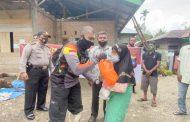 Brata Polres Pasbar Salurkan Bantuan Sembako Kepada Warga Kurang Mampu