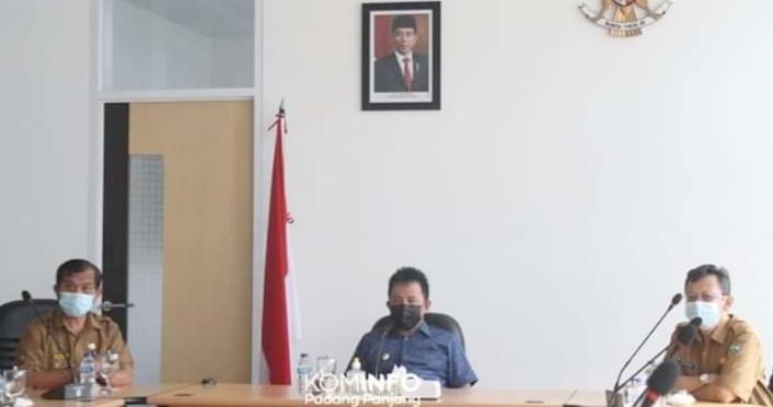 Wawako Asrul Ikuti Rakor Persiapan Vaksinasi Covid-19, Penyuntikan Perdana Mulai 13 Januari Mendatang