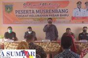Kelurahan Pasar Baru Usulkan Enam Kegiatan di Musrenbang