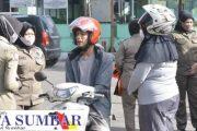 Pastikan Kepatuhan Warga, Tim Gabungan Covid-19 Razia di Kawasan Pasar Padang Panjang
