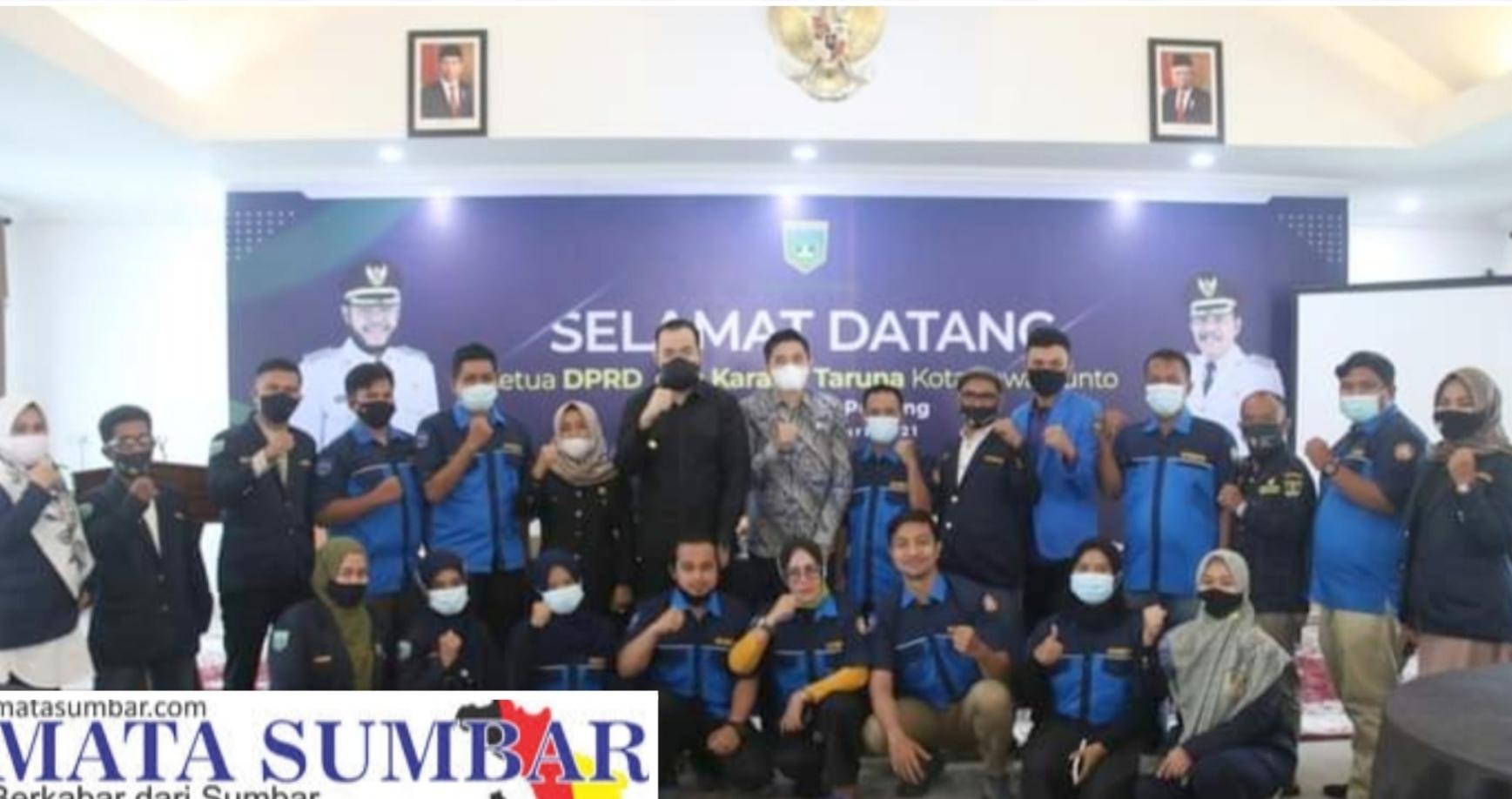 Soal Kepemudaan, Karang Taruna Sawahlunto Studi Banding ke Padang Panjang