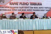 Usai Terima BRPK MK, KPU Pasbar Tetapkan Bupati dan Wakil Bupati Terpilih
