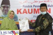 Sejumlah Kepala Madrasah dan Kemenag Simeuleu Studi Banding ke Padang Panjang