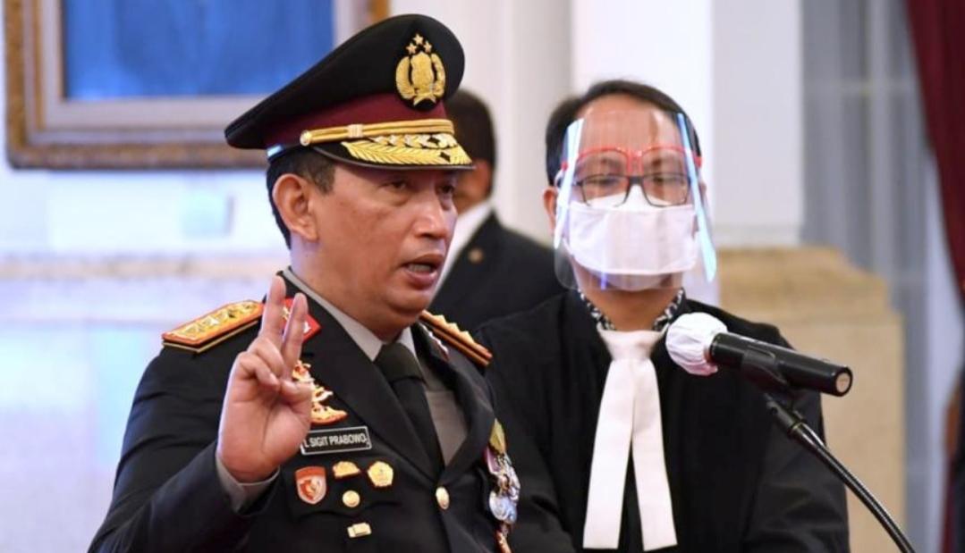Dilantik Presiden RI, Listyo Sigit Prabowo Resmi Jadi Kapolri