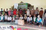 Babinsa Sikakap Dampingi Penyerahan Sepeda Motor di Yayasan Ruhamah MTS Pasapuat