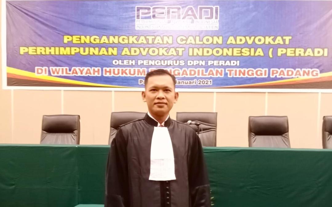 Pejuang Sosial Asal Mentawai Jadi Advokat