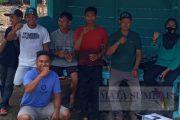 Masyarakat Nagari Persiapan Pujorahayu Bahu Membahu Bangun Pos Ronda