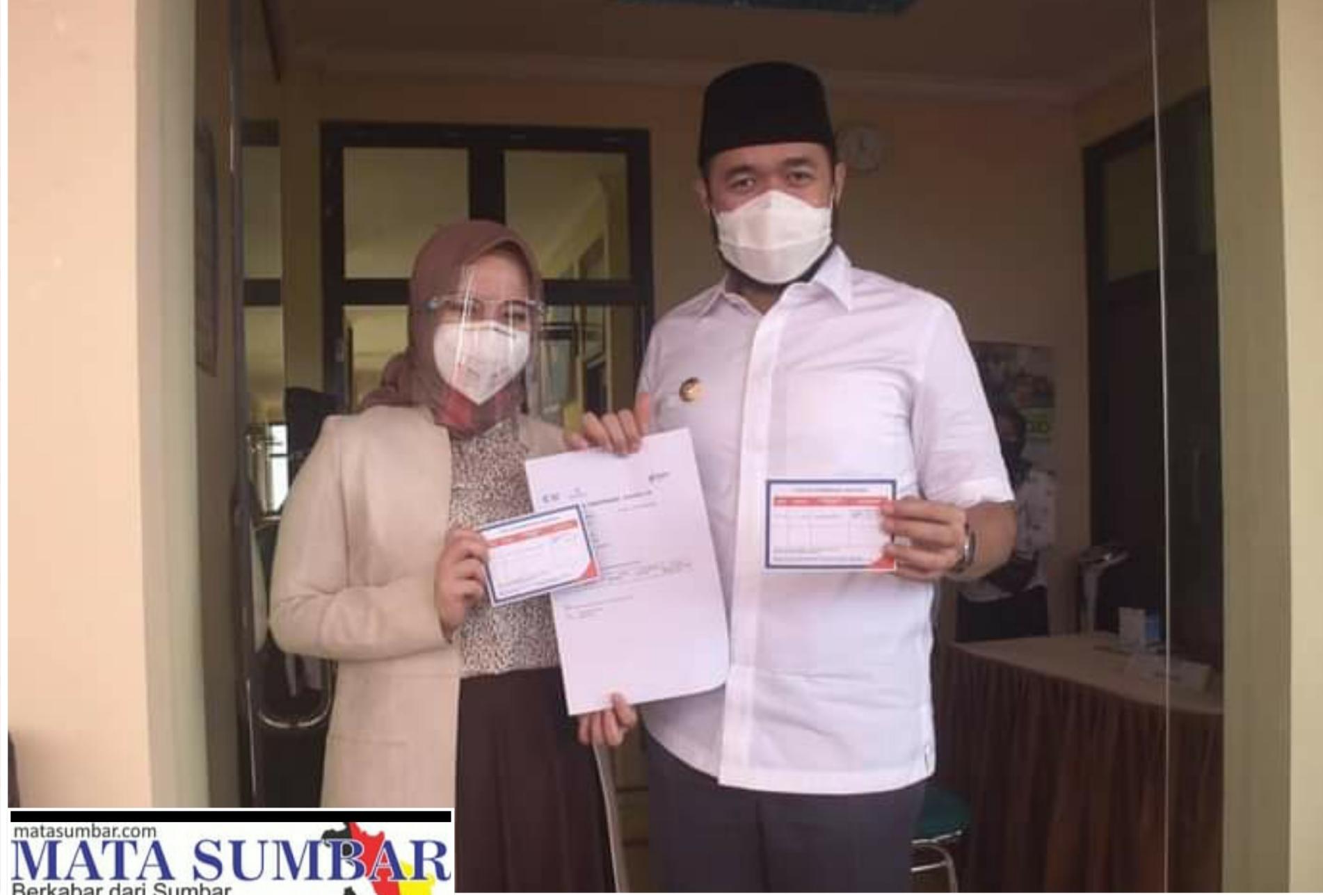 Vaksinasi di Canangkan, Wako Fadly : Lawan Covid-19 Dengan Vaksin