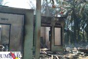 4 Unit Rumah di Kampung Jonabu Tangah Padang Pasbar Ludes di Lalap Sijago Merah