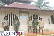 Jelang Pelaksanaan TMMD ke-110, Babinsa 03 Sipora Tinjau Masjid Al-Fajar Yang Akan di Rehab