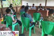 Sosialisasi di Dua Desa, Plh Pasiter Kodim 0319/Mentawai : Pra TMMD ke-110 di Rencanakan Mulai 8 Februari 2021