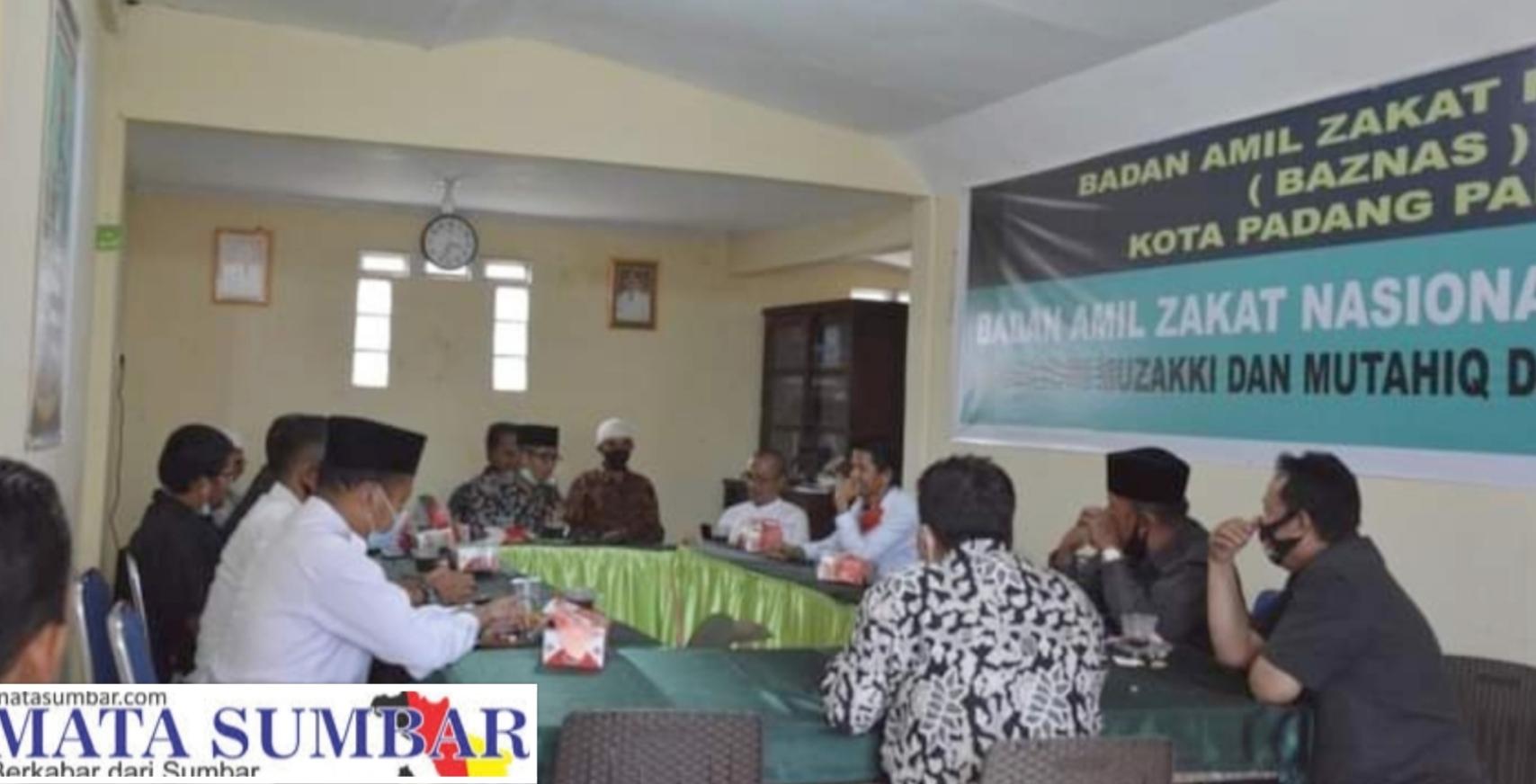Bapemperda DPRD Agam Belajar Pengelolaan Zakat ke Baznaz Kota Padang Panjang