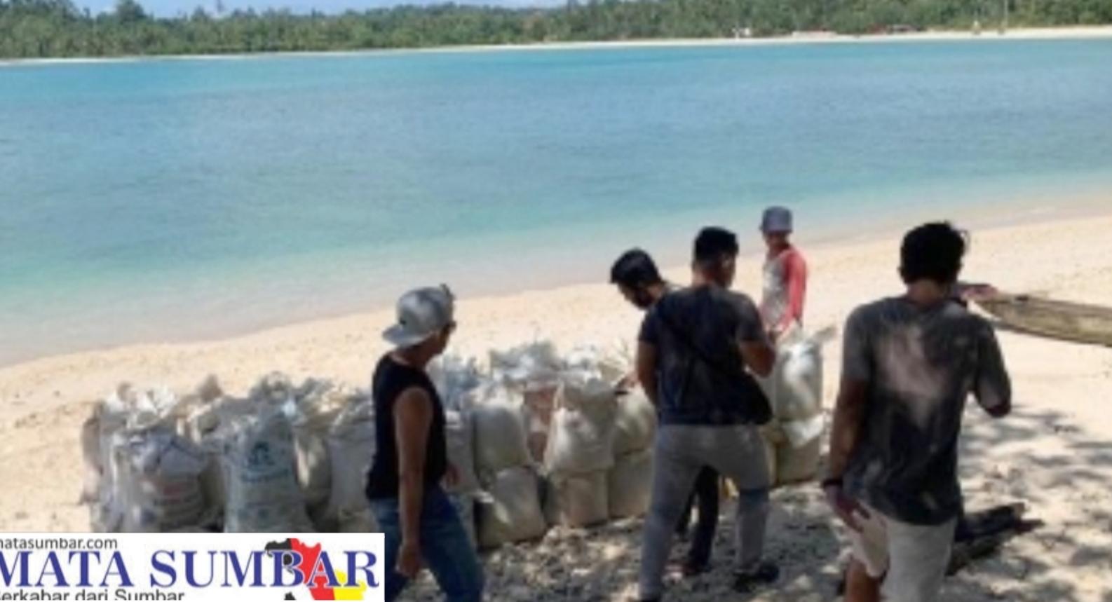 Penambang Pasir di Pantai Mapaddegat di Tertibkan, Reskrim Mentawai Berikan Warning