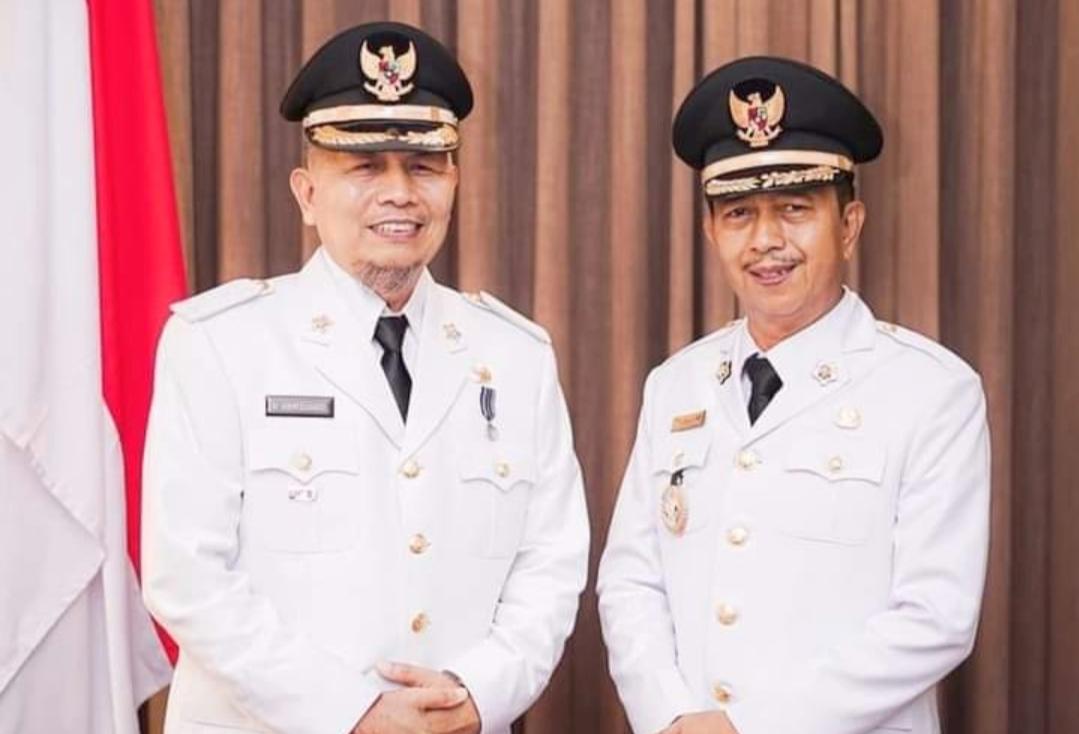 Hamsuardi-Risnawanto Resmi di Lantik Gubernur Sumbar Sebagai Bupati dan WabupPasbar
