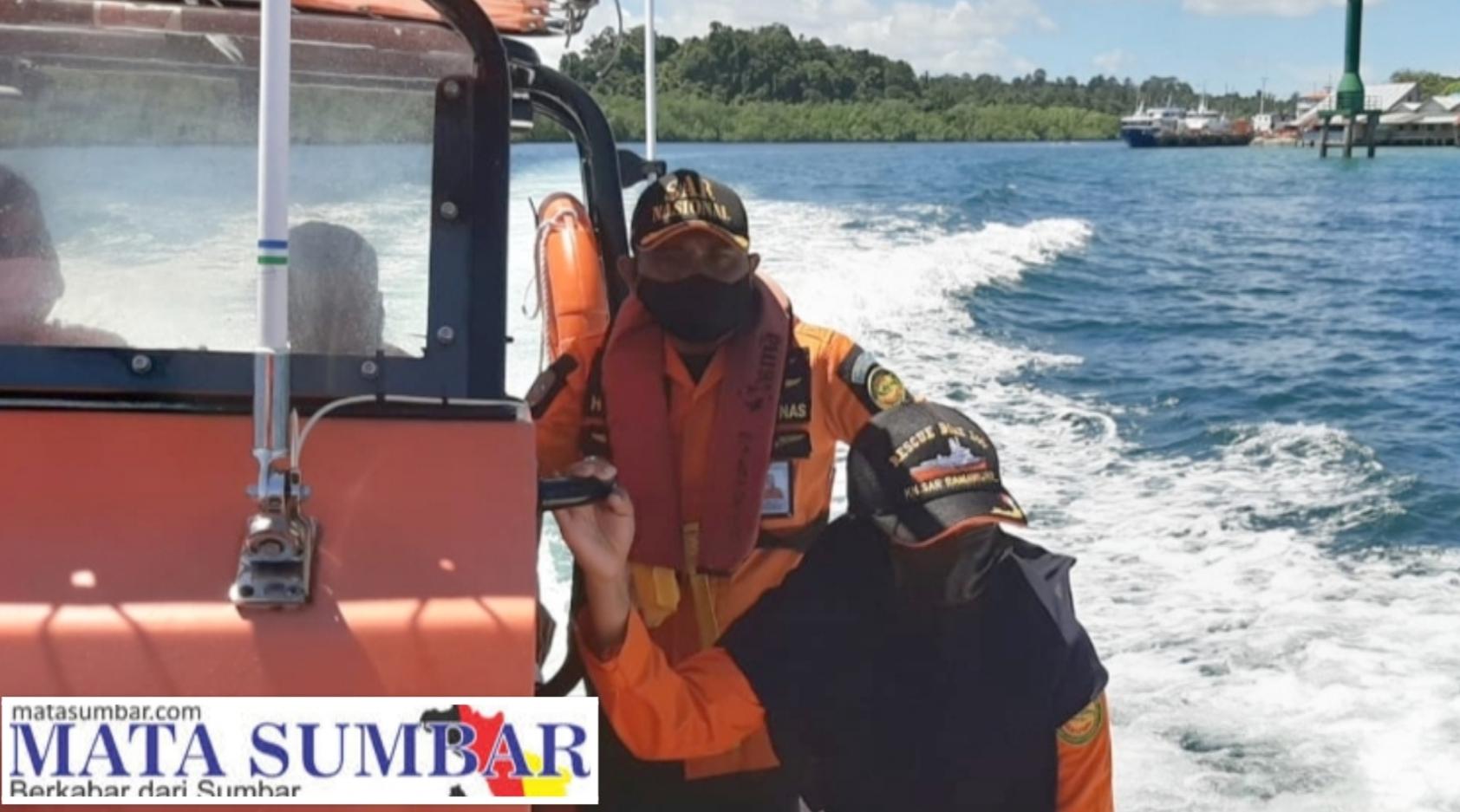 Mati Mesin di Perairan Matuptuman POB 3 Orang, SAR Mentawai Lakukan Operasi