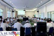 Bupati Pasbar Pimpin Rakor Perdana Dengan Seluruh OPD