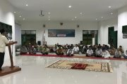 Peringati Isra Mi'raj, Satgas TMMD Gelar Doa Bersama Dengan Warga dan Santri Ponpes