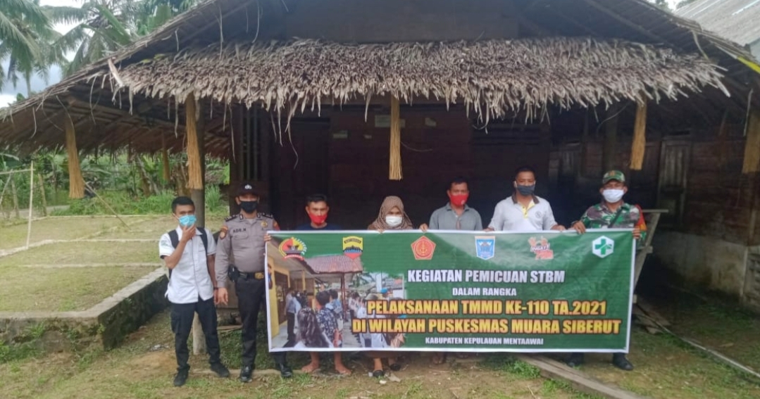 Satgas TMMD Luncurkan Program Sanitasi Total Berbasis Masyarakat di Dusun Sirokdak