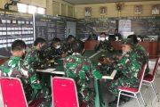 Jelang Kunjungan Wasev ke Mentawai, Dansatgas TMMD Gelar Rapat Bersama Perwira dan Staf
