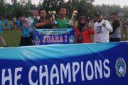 Turnamen Pujorahayu Cup I Berahkir Adu Finalti, Club SSB Keluar Sebagai Juara