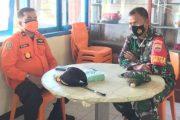 Silahturahmi Dansatgas TMMD Bersama Kakansar Mentawai