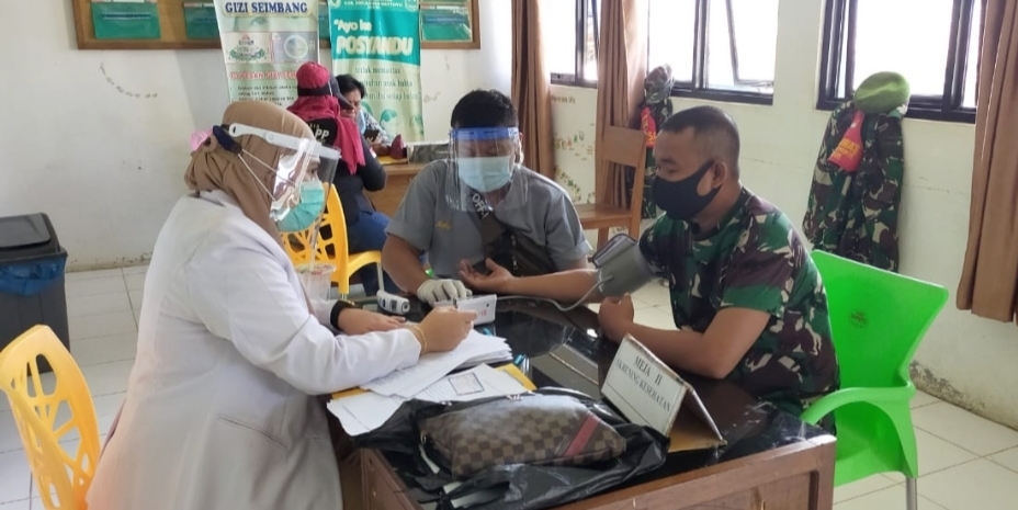 Miliki Riwayat Penyakit, Tiga Orang Anggota Koramil Sikakap Batal Jalani Vaksinasi