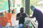 Ikuti Vaksinasi Tahap II, Satgas TMMD Dukung Penuh Program Indonesia Sehat