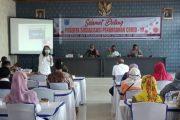 Sosialisasi Penanganan Covid-19, Satgas TMMD Kolaborasi Bersama Aparatur Kecamatan