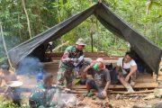 Ketrampilan Survival Dalam Segala Kondisi di Lakukan Satgas TMMD
