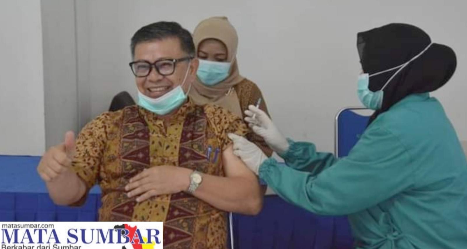 ASN,Dosen ISI dan Para Guru di Padang Panjang Jalani Vaksinasi Tahap II