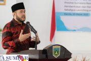 Wako Fadly Resmi Launching e-Retribusi Pasar Pusat Sekaligus Pembentukan Tim TP2DD