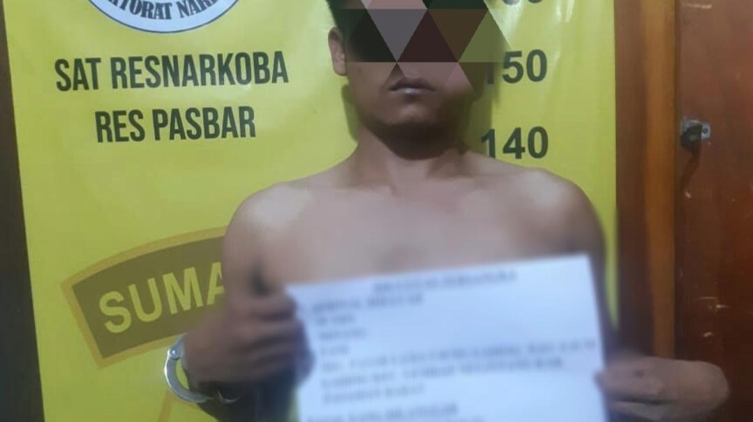 Miliki Sabu Siap Edar, Seorang Pemuda di Pasbar di Ringkus Polisi