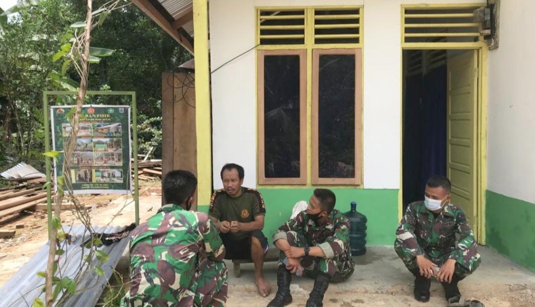 Subardi Warsono Bahagia Dapat Rumah Layak Huni Yang di Kerjakan Satgas TMMD