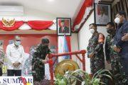Kasiter Korem 032/Wbr Resmi Tutup Kegiatan TMMD di Mentawai