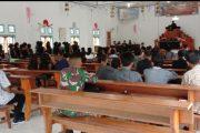 Satgas TMMD Ikuti Ibadah Paskah di Gereja GKPM Syalom Goiso'oinan