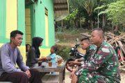 Warga Penerima Manfaat Rehab RTLH di Sambangi Satgas TMMD