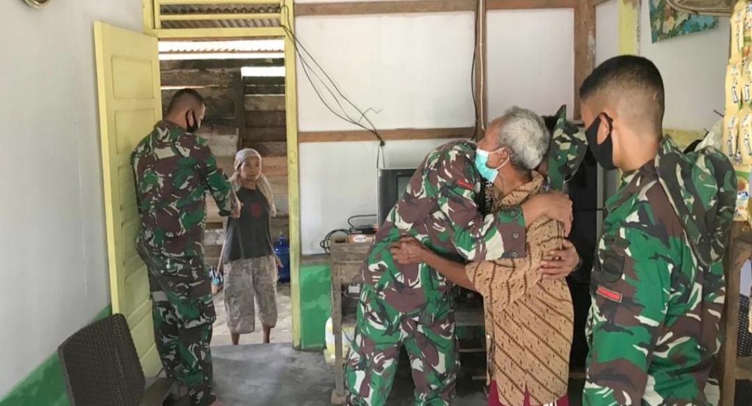 Teteskan Air Mata, Rumah Marzuki di Kerjakan TNI Sudah Bisa di Tempati