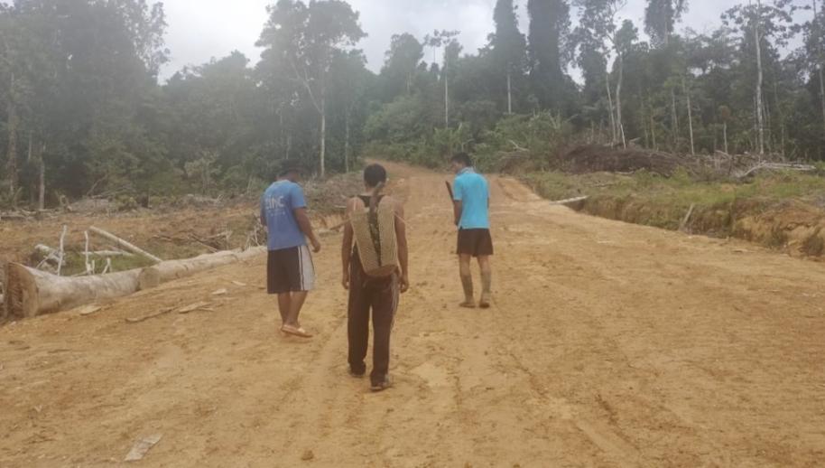 Jalan Baru di Kerjakan TNI Sudah Mulai di Rasakan Manfaatnya Oleh Masyarakat
