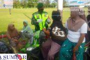 Babinsa 04/Lengayang Tak Bosan-Bosan Ajak Warga Untuk Mematuhi Prokes