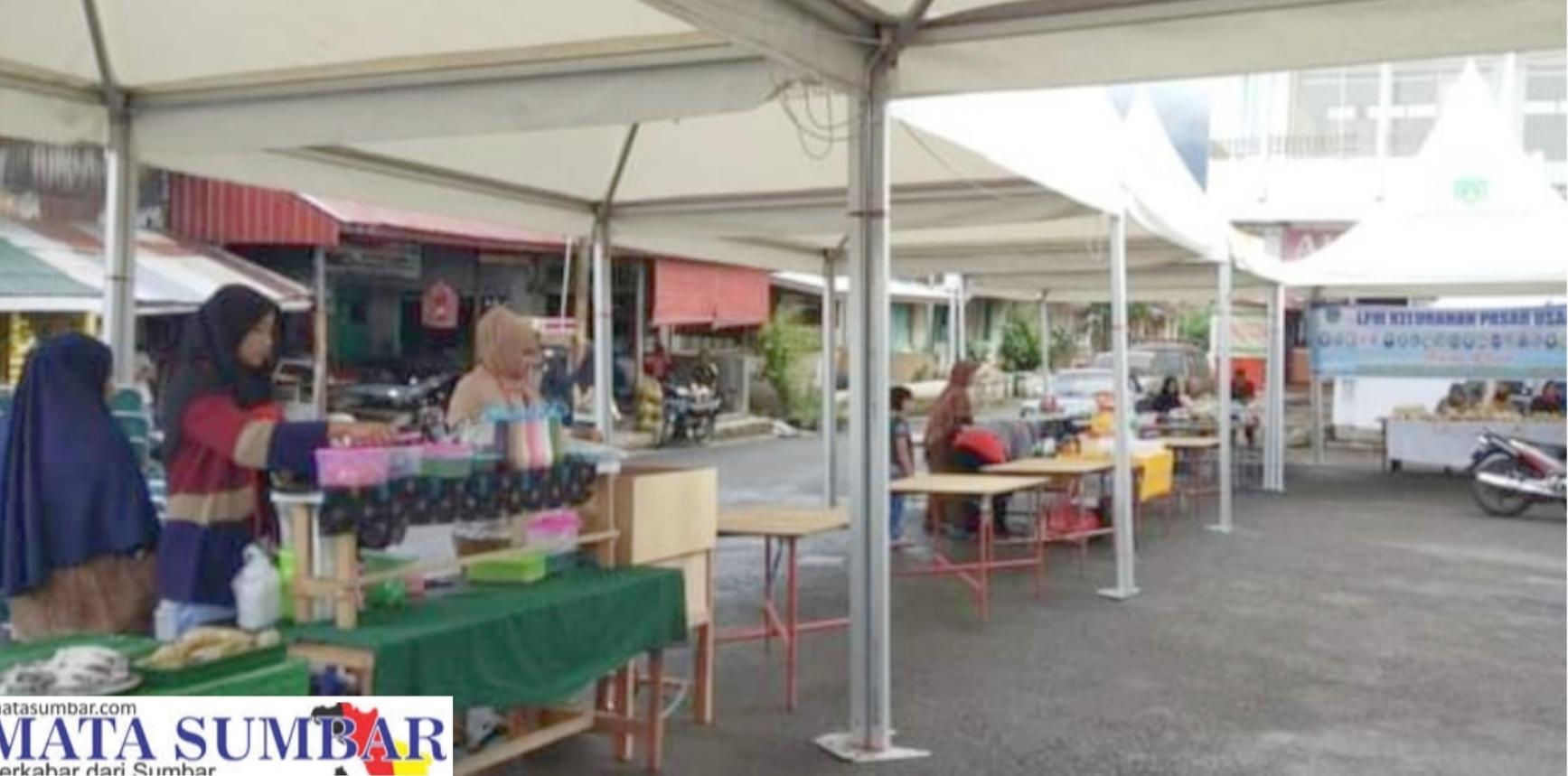 Antisipasi Keramaian, Pasar Pabukoan di Padang Panjang di Buat Strategis