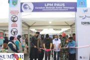 Inovasi Pasar Pabukoan Gentar LPM Kelurahan Paus di Buka Wako Fadly