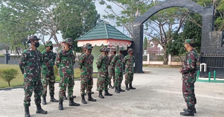 15 Tamtama Remaja di Lepas Dandim 0319/Mentawai di Tempat Tugas Baru