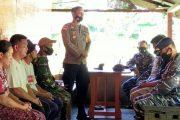 Muspika Sikakap Melayat ke Rumah Duka Anggota Polsek di Dusun Cimpungan