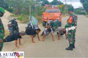 Operasi Penegakan Prokes, Tak Pakai Masker di Beri Sanksi Push-Up dan Arahan